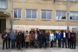 Comisión de Educación del Parlamento, Corporativos de Beriain, técnicos y miembros de la Comunidad Educativa