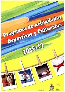 Programa actividades 2016-17