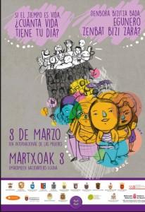 Cartel 8M - Día Internacional de las Mujeres